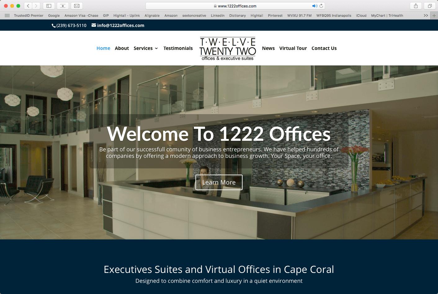 Web Design for Office Spaces